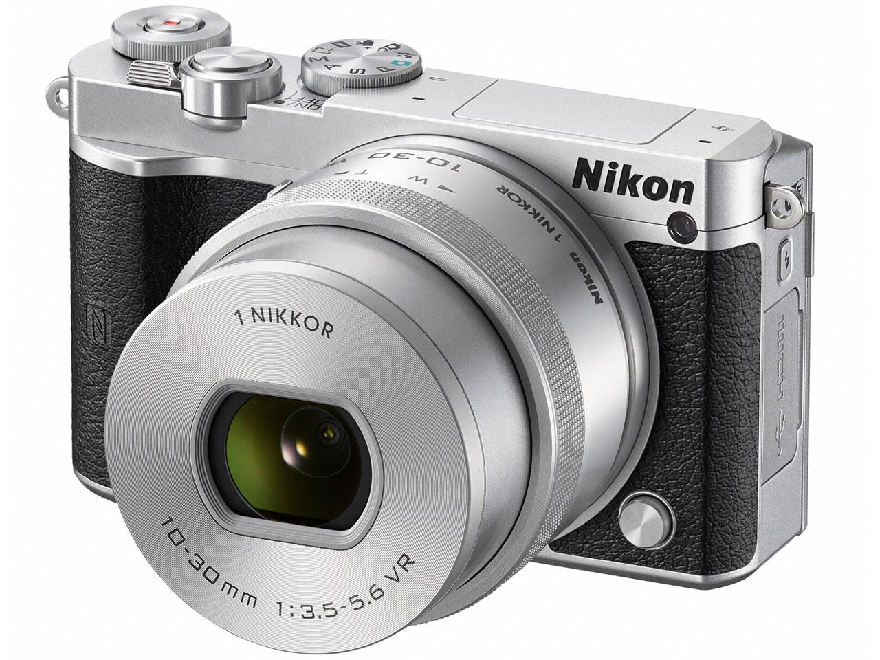 Nikon 1 J5 標準パワーズームレンズキット [シルバー]