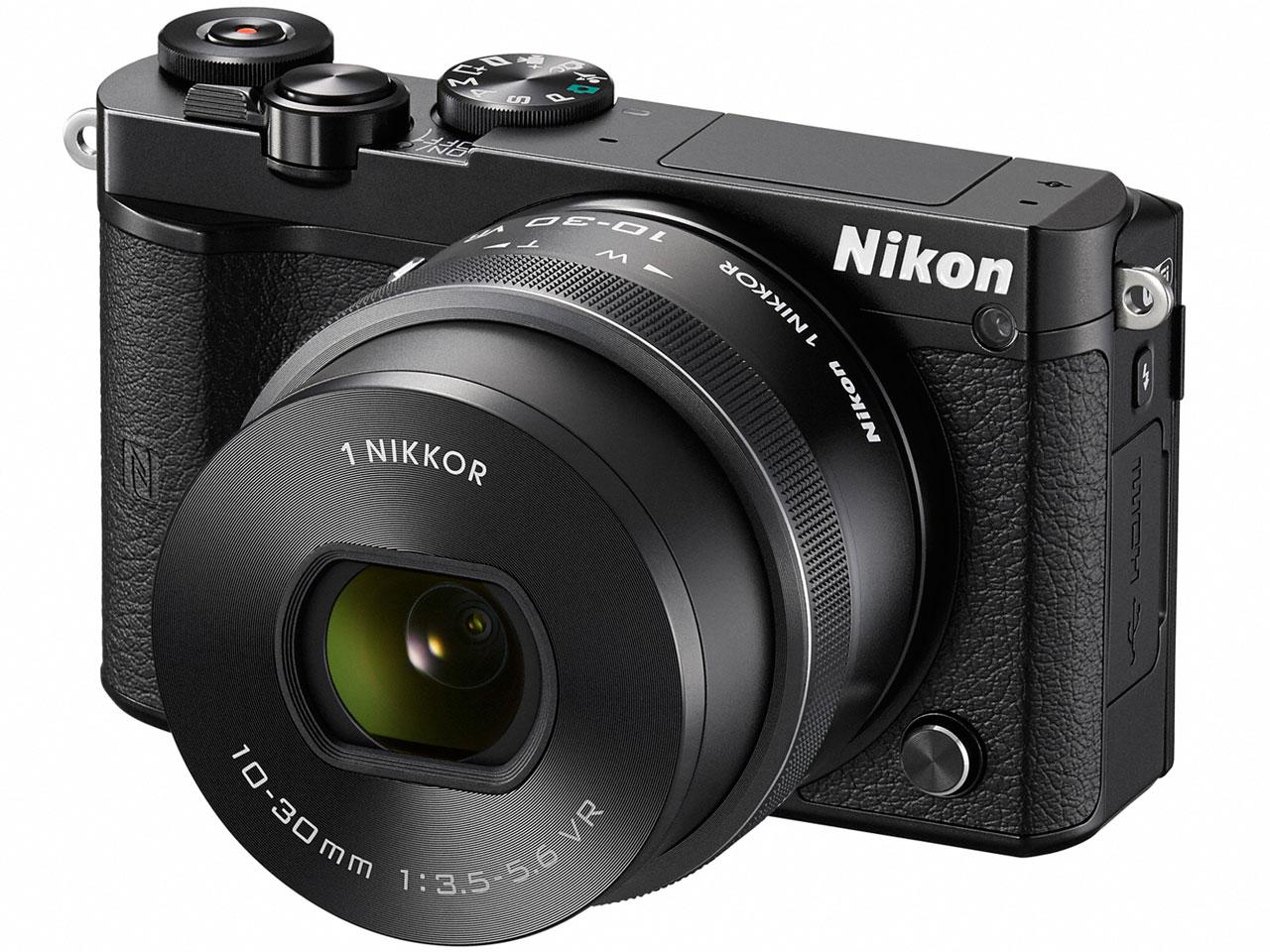Nikon 1 J5 標準パワーズームレンズキット [ブラック] の製品画像