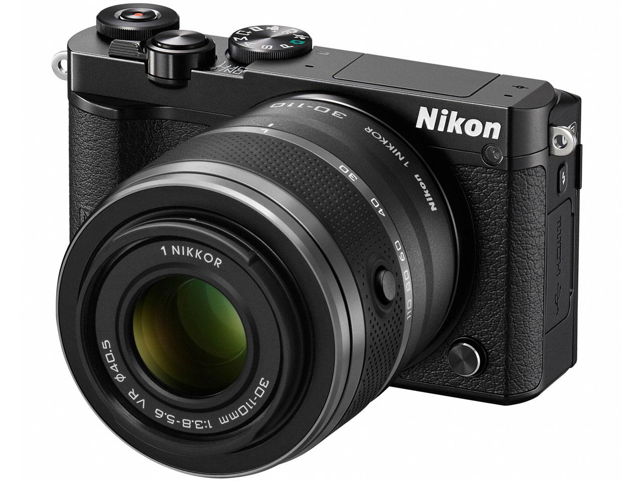 Nikon 1 J5 ダブルズームレンズキット [ブラック] の製品画像
