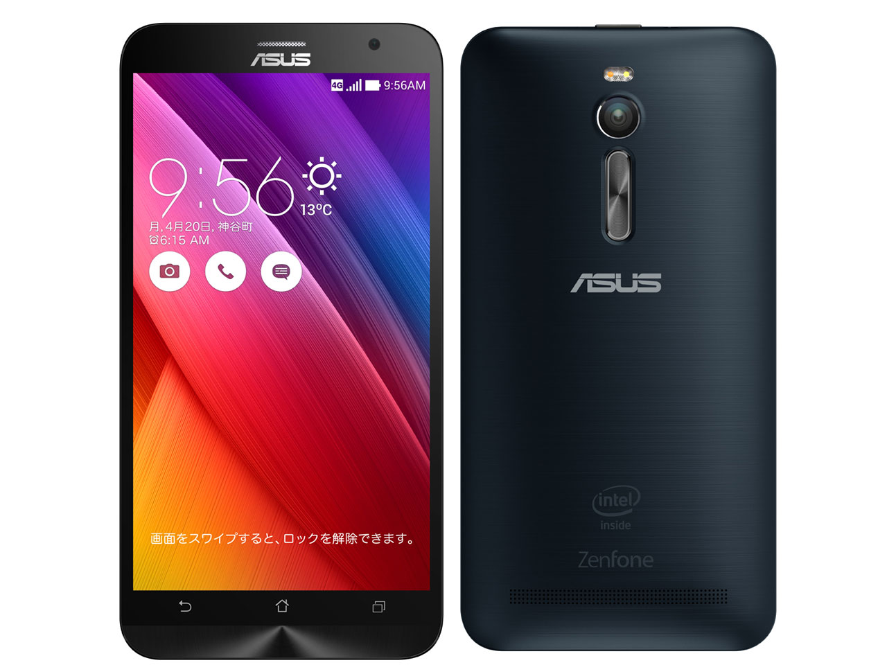 ZenFone 2 ZE551ML-BK32 SIMフリー [ブラック] の製品画像