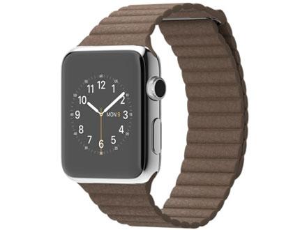 価格 com apple watch 42mm lサイズ mj422j a ライトブラウンレザー
