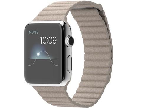 価格 com apple watch 42mm lサイズ mj442j a ストーンレザーループ