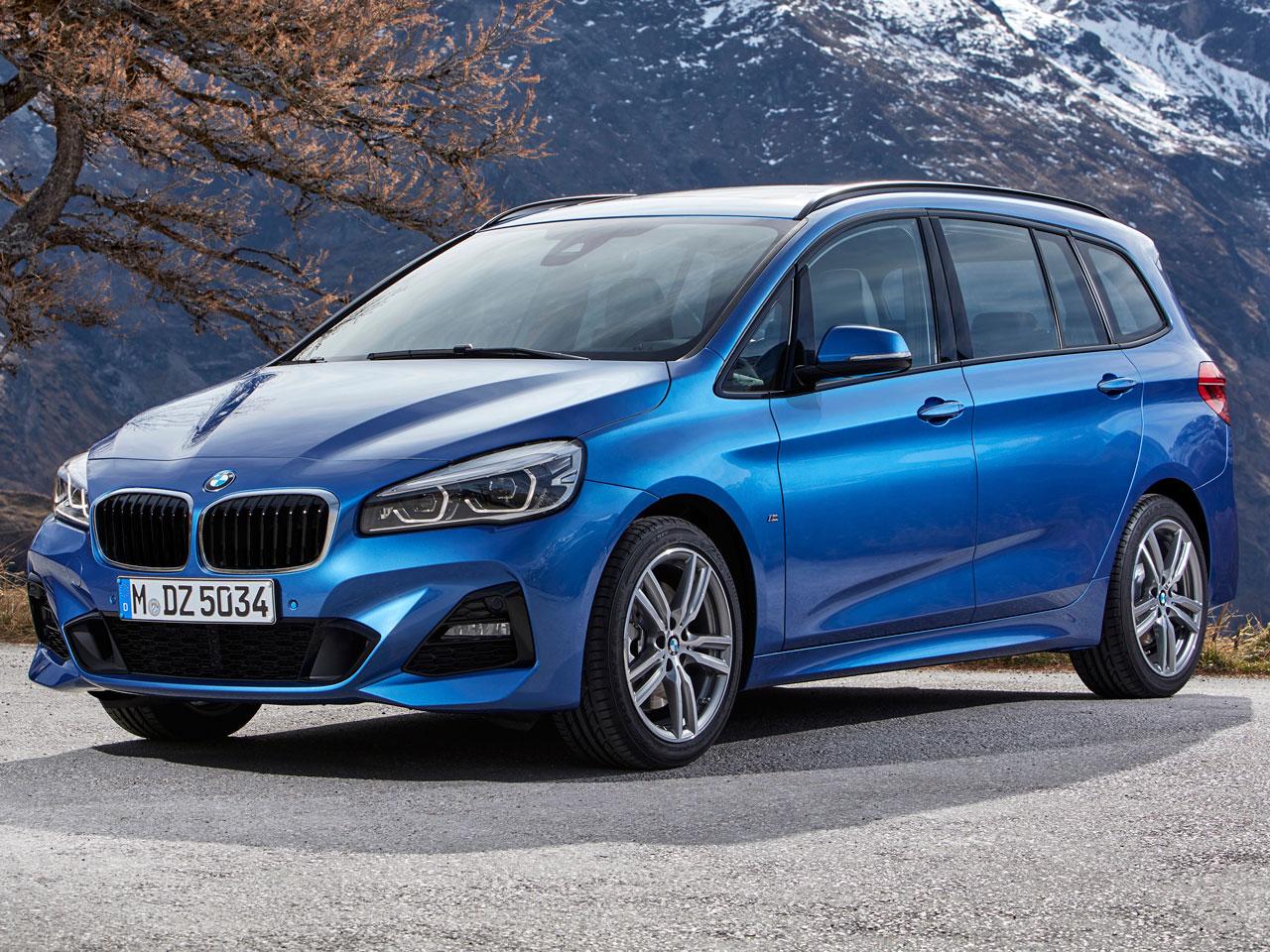 BMW 2シリーズ グランツアラー 2015年モデル 新車画像