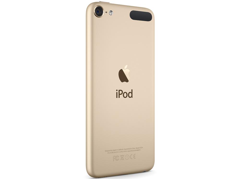 『本体 背面』 iPod touch MKHT2J/A [32GB ゴールド] の製品画像