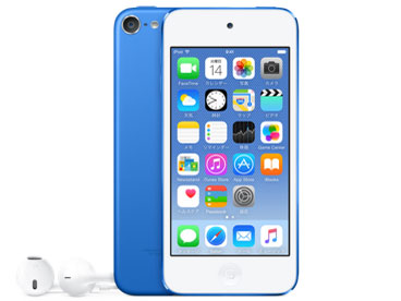 iPod touch MKHV2J/A [32GB ブルー] の製品画像
