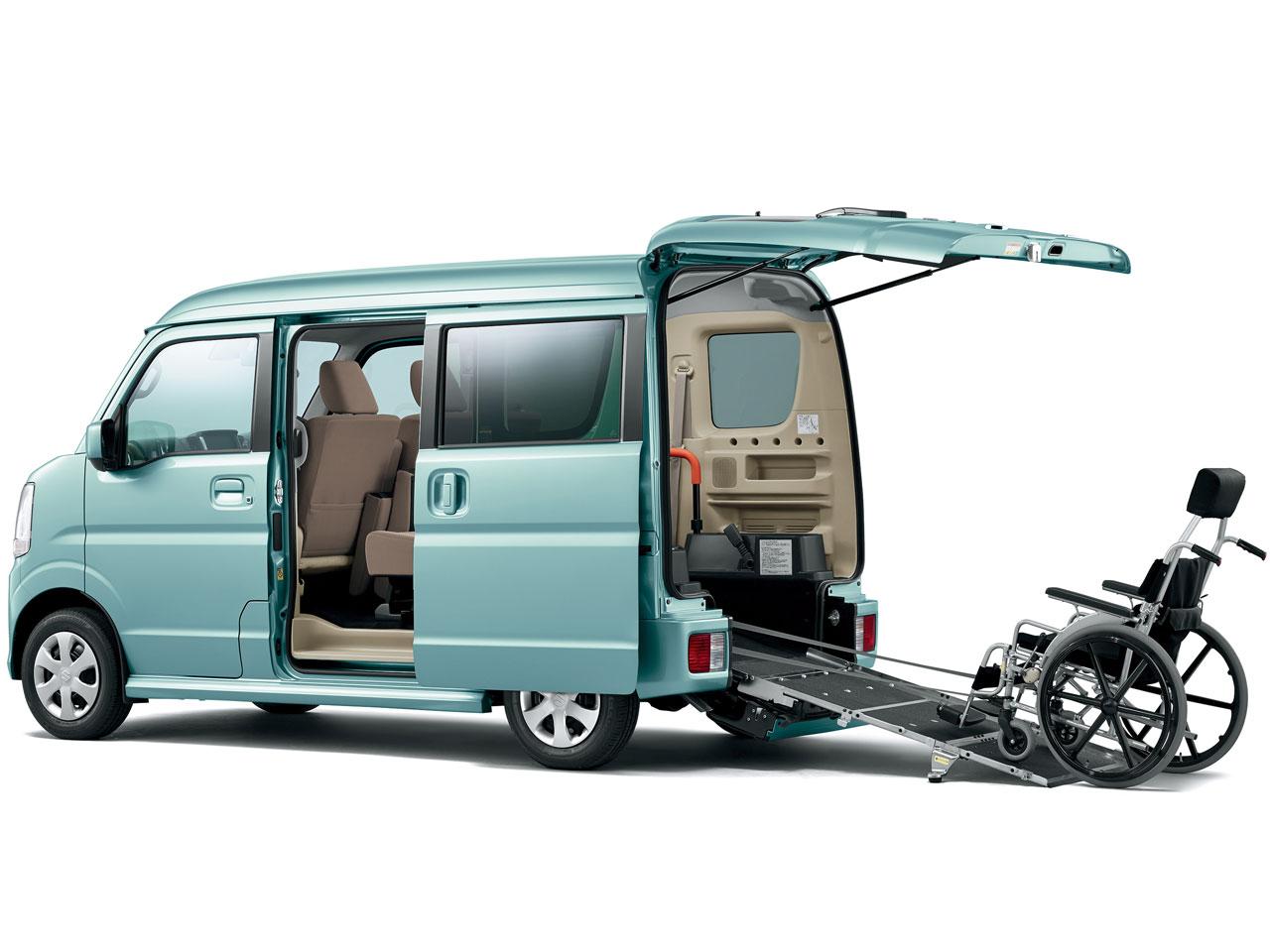 スズキ エブリイワゴン 福祉車両 2015年モデル 新車画像