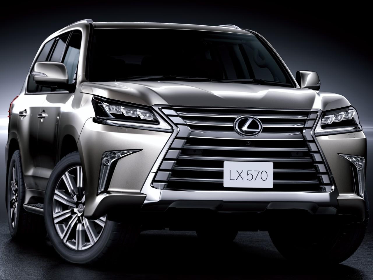 レクサス LX 2015年モデル 新車画像