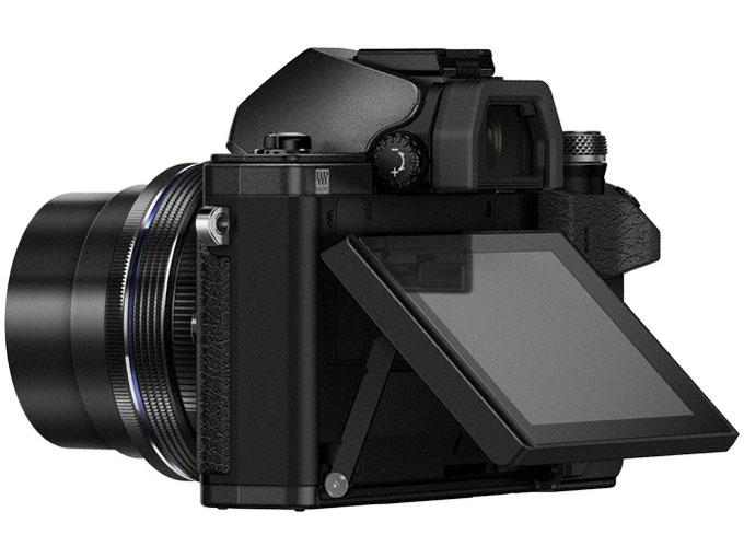 『本体 背面 バリアングル2』 OM-D E-M10 Mark II 14-42mm EZレンズキット [ブラック] の製品画像