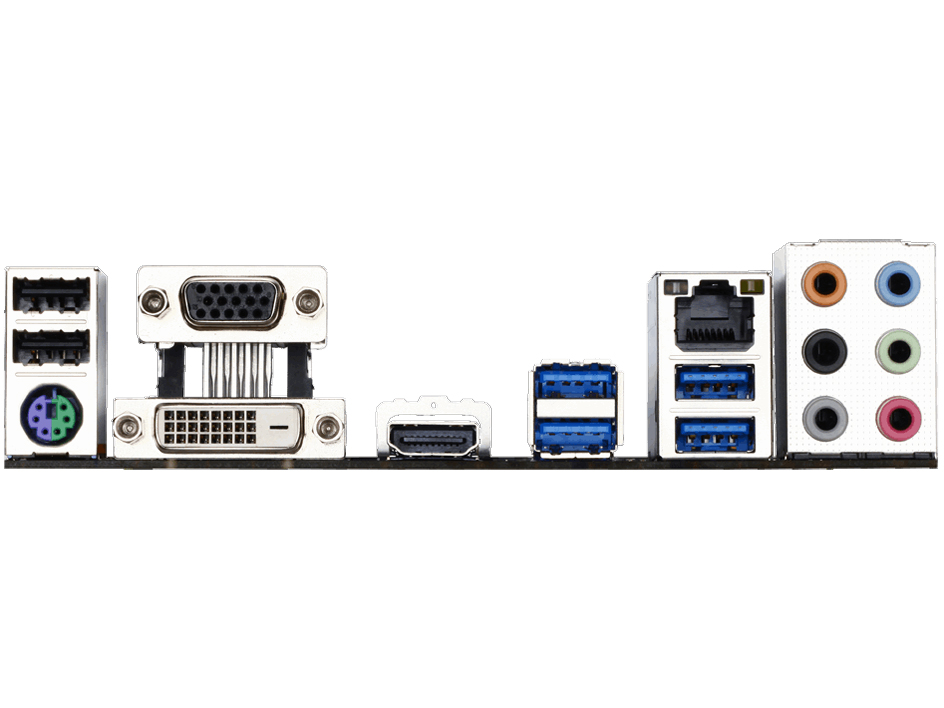 『本体 接続部分』 GA-H170-HD3 [Rev.1.0] の製品画像