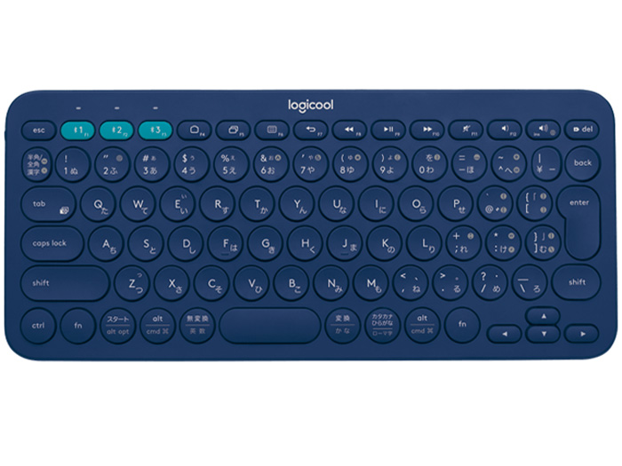 K380 Multi-Device Bluetooth Keyboard K380BL [ブルー] の製品画像