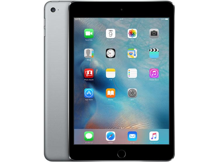 iPad mini 4 Wi-Fiモデル 64GB MK9G2J/A [スペースグレイ] の製品画像