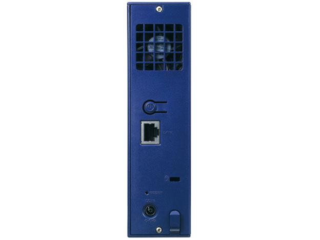 『本体 背面』 LAN DISK HDL-T2NV [ミレニアム群青] の製品画像
