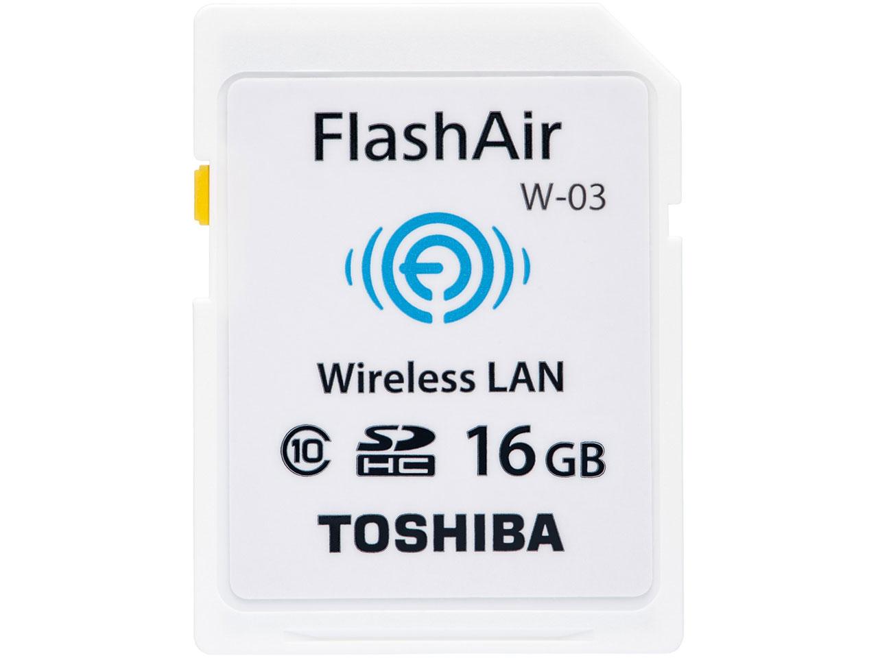 FlashAir W-03 SD-R016GR7AL03A [16GB] の製品画像
