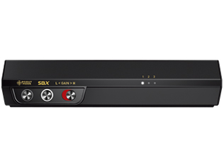 『本体 側面1』 Sound BlasterX G5 SBX-G5 の製品画像