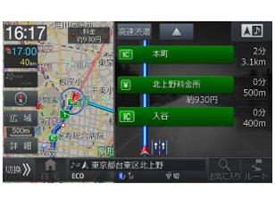『ルート画面』 ビッグX X9S-PR2 の製品画像