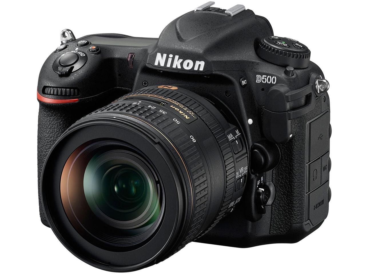 『本体 正面』 D500 16-80 VR レンズキット の製品画像