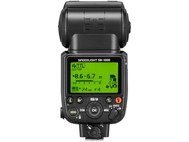 『本体2』 スピードライト SB-5000 の製品画像