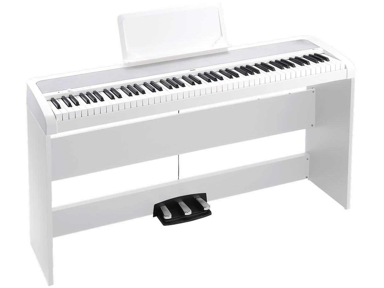 com digital piano b1sp wh. Black Bedroom Furniture Sets. Home Design Ideas