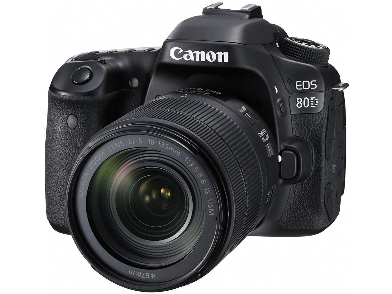EOS 80D EF-S18-135 IS USM レンズキット の製品画像