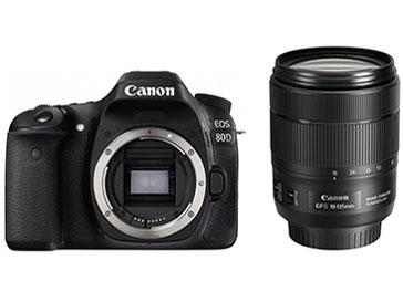 『本体 付属品 レンズ』 EOS 80D EF-S18-135 IS USM レンズキット の製品画像
