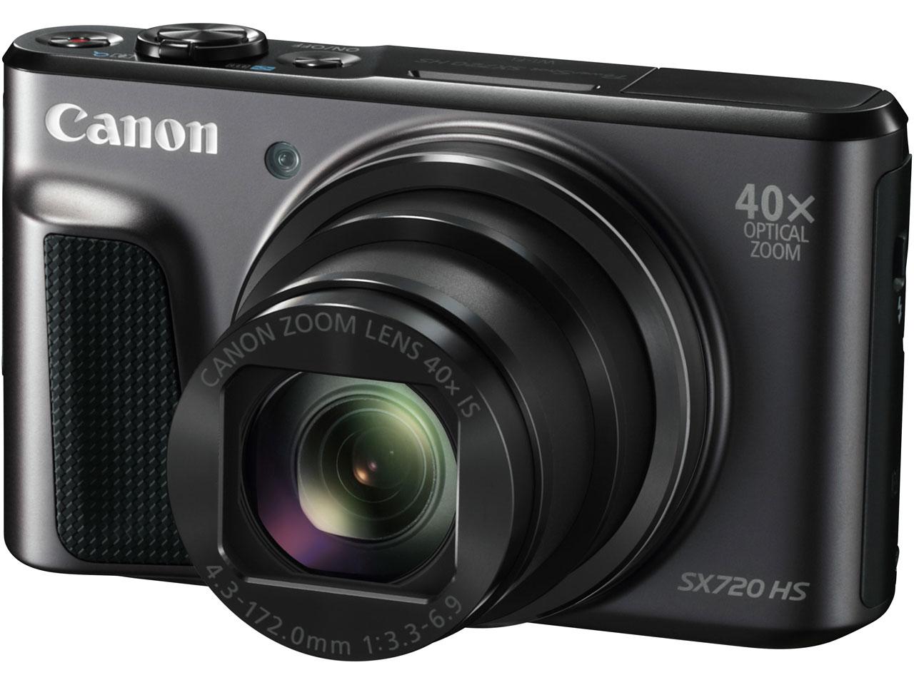PowerShot SX720 HS [ブラック] の製品画像