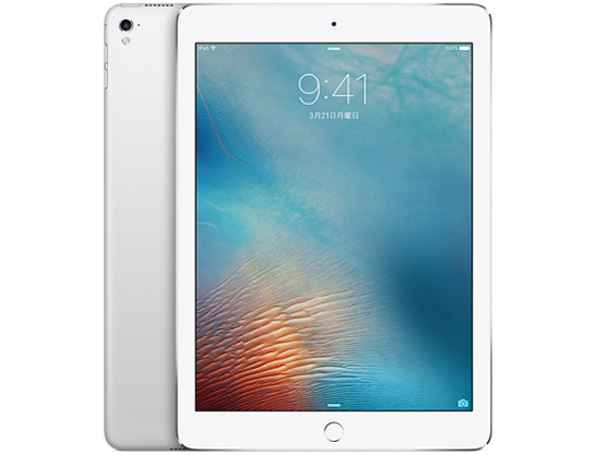 iPad Pro 9.7インチ Wi-Fiモデル 32GB MLMP2J/A [シルバー] の製品画像