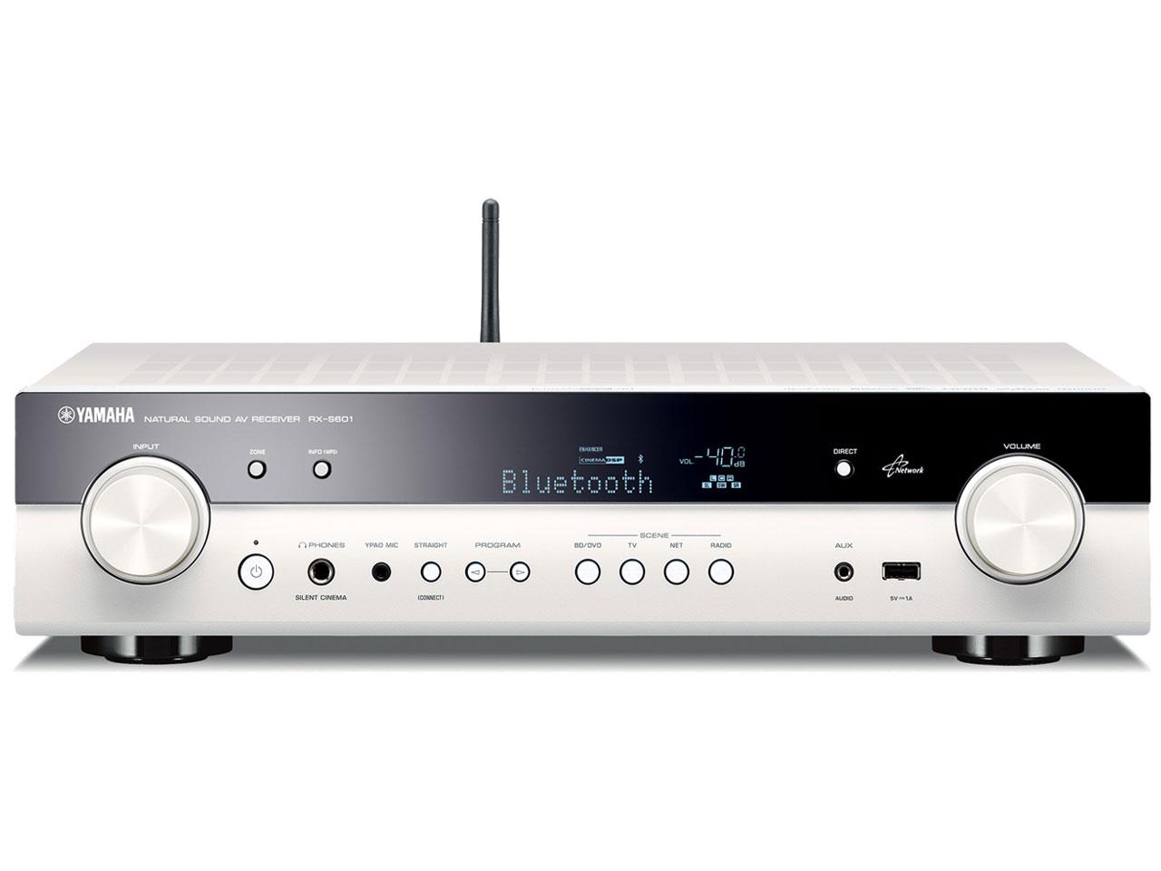 『本体』 RX-S601(W) [ホワイト] の製品画像