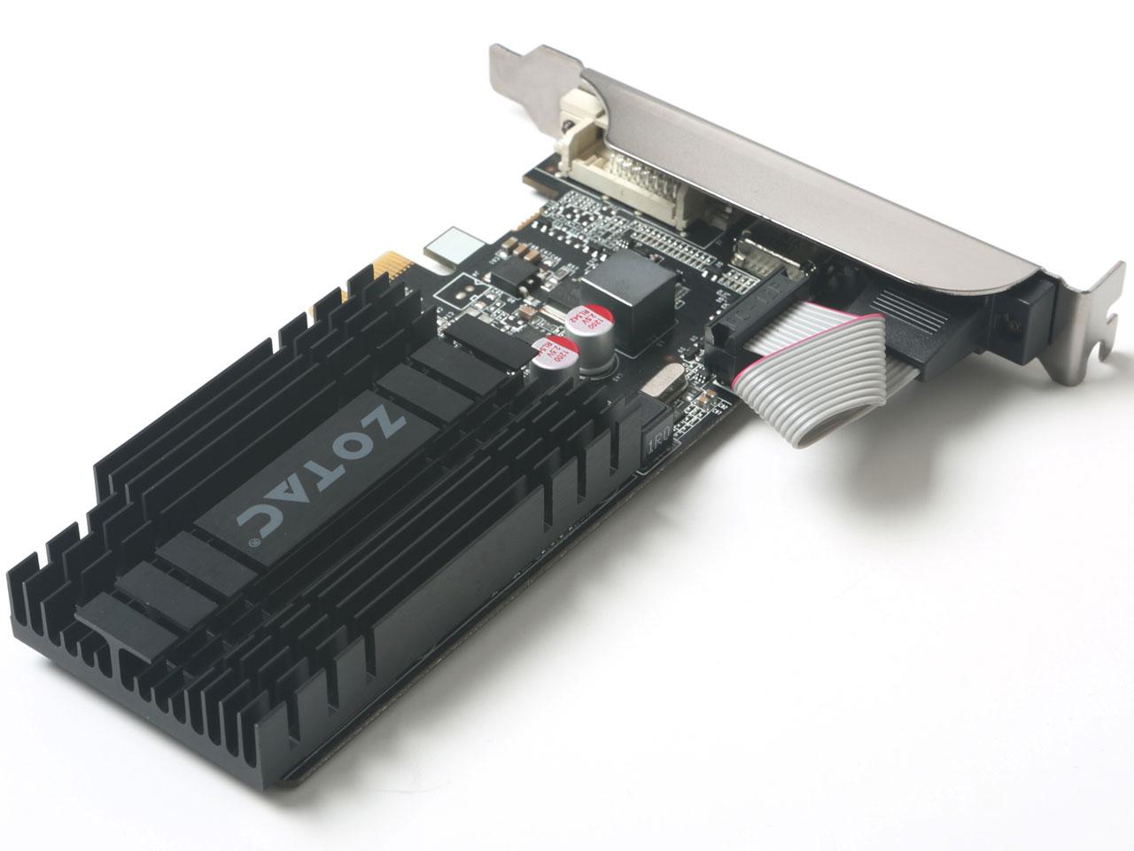 『本体3』 ZOTAC Geforce GT 710 ZONE Edition 1GB ZT-71304-20L [PCIExp 1GB] の製品画像