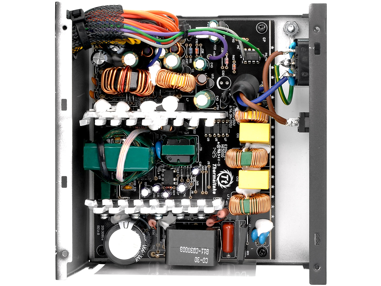 『本体 内部』 TR2 500W V2 BRONZE PS-TR2-0500NPCBJP-B-V2 の製品画像