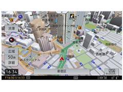 『ルート画面』 サイバーナビ AVIC-CL900 の製品画像