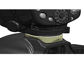 『本体 部分アップ』 スピードライト 600EX II-RT の製品画像