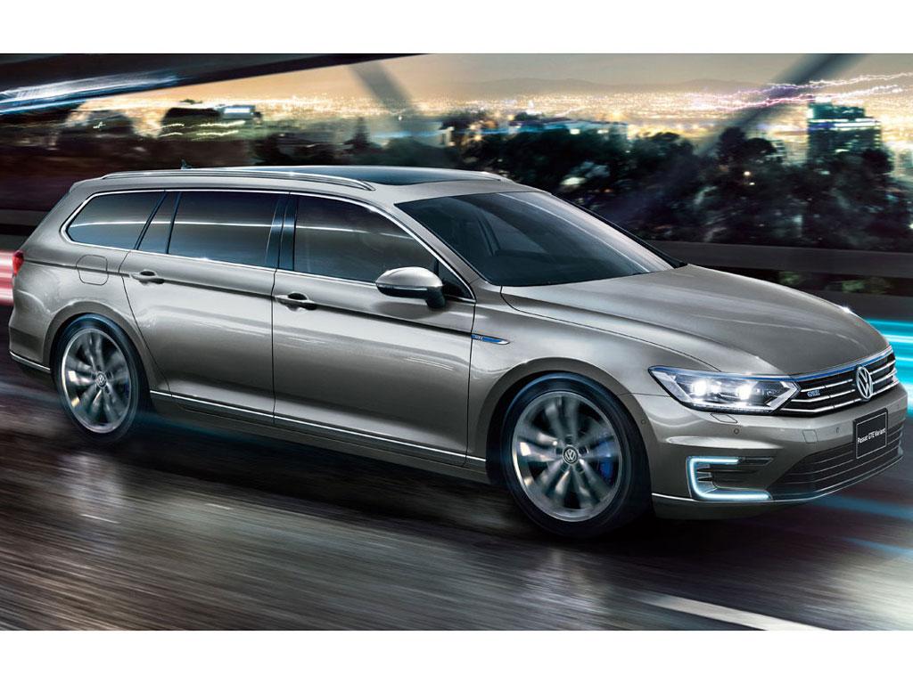 フォルクスワーゲン パサート GTE ヴァリアント 2016年モデル 新車画像
