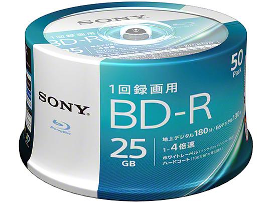 50BNR1VJPP4 [BD-R 4倍速 50枚組] の製品画像