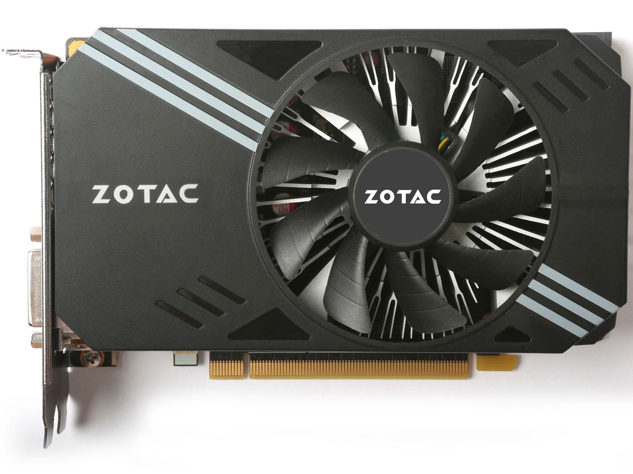 『本体1』 ZOTAC GeForce GTX 1060 6GB Single Fan ZT-P10600A-10L [PCIExp 6GB] の製品画像