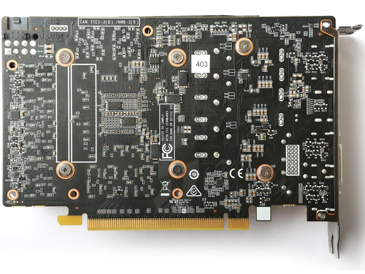 『本体4』 ZOTAC GeForce GTX 1060 6GB Single Fan ZT-P10600A-10L [PCIExp 6GB] の製品画像