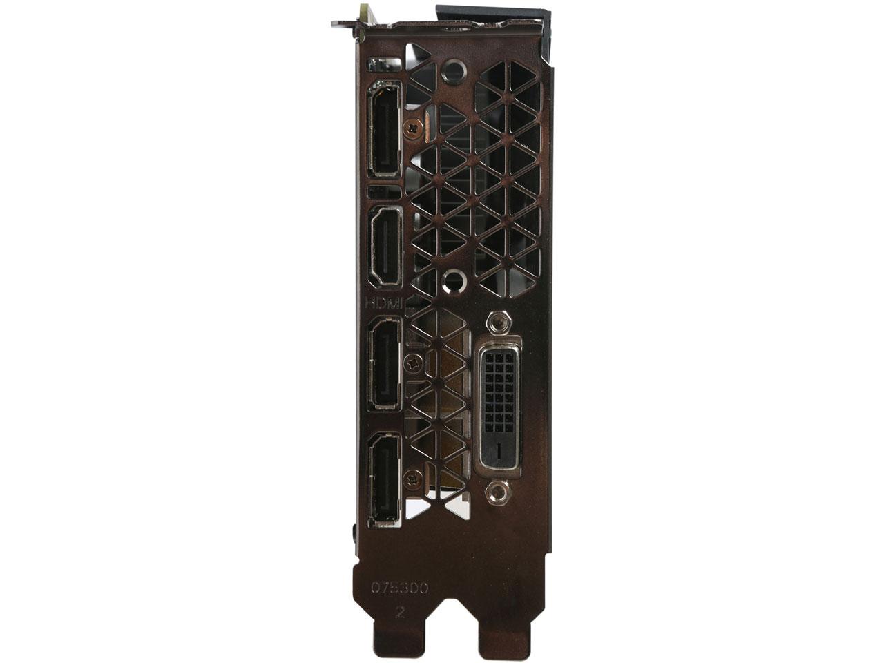 『本体 接続部分』 ZOTAC GeForce GTX 1060 6GB Single Fan ZT-P10600A-10L [PCIExp 6GB] の製品画像