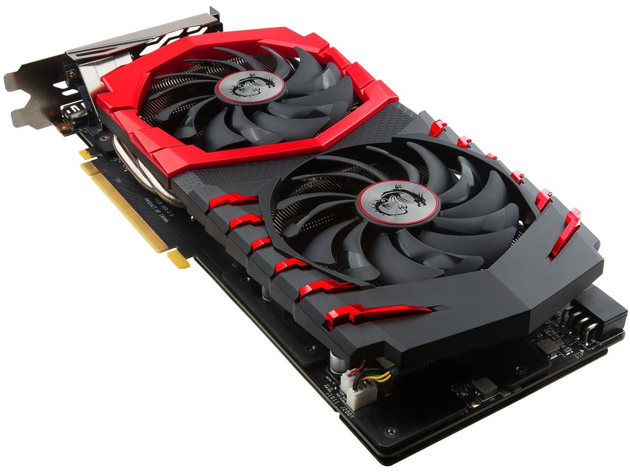 『本体2』 GTX 1060 GAMING X 6G [PCIExp 6GB] の製品画像