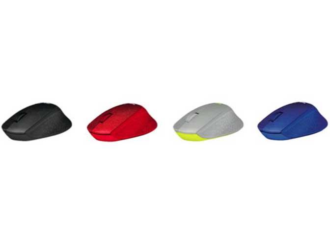 『カラーバリエーション』 M331 SILENT PLUS Wireless Mouse M331BK [ブラック] の製品画像