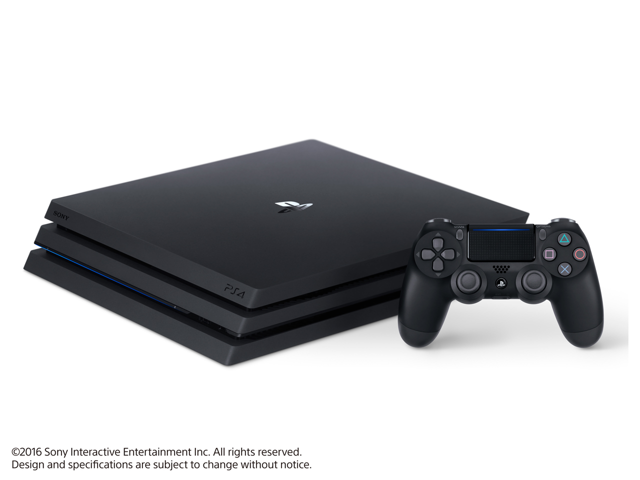 『本体2』 プレイステーション4 Pro HDD 1TB ジェット・ブラック CUH-7000BB01 の製品画像