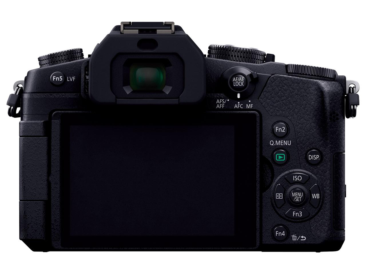 『本体 背面』 LUMIX DMC-G8 ボディ の製品画像