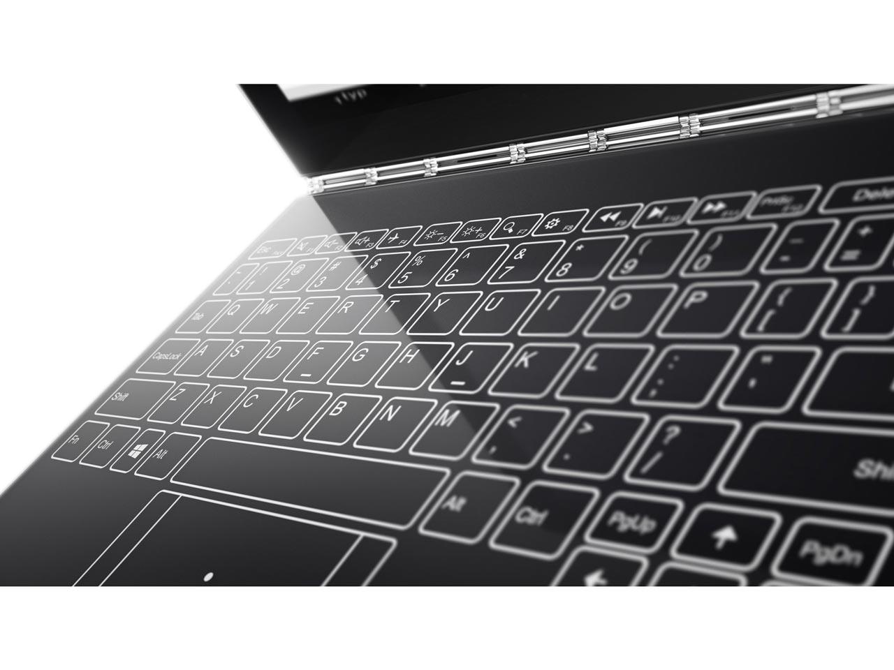 『本体 キーボード部分』 YOGA BOOK with Windows ZA150019JP の製品画像
