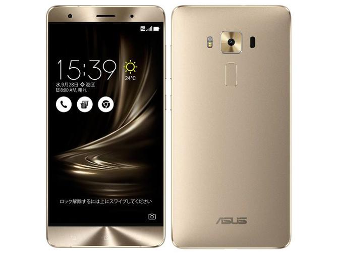 ZenFone 3 Deluxe ZS570KL-GD256S6 SIMフリー [ゴールド] の製品画像