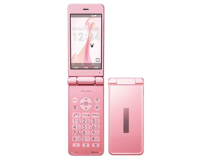 docomo AQUOS ケータイ SH-01J [Pink] の製品画像