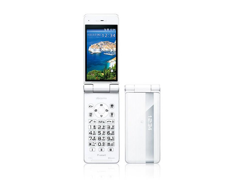 P-smart ケータイ P-01J [ホワイト] の製品画像