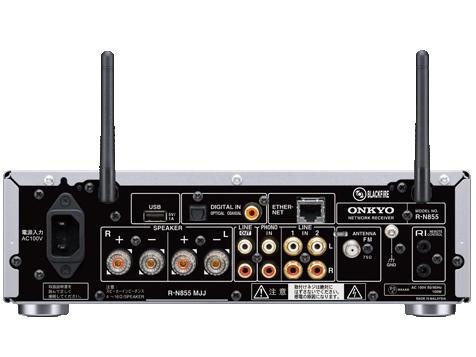 『本体 背面』 INTEC R-N855 の製品画像