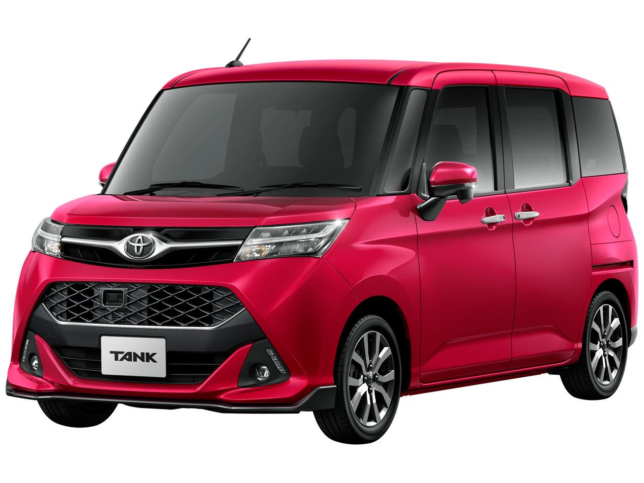 トヨタ タンク 2016年モデル 新車画像