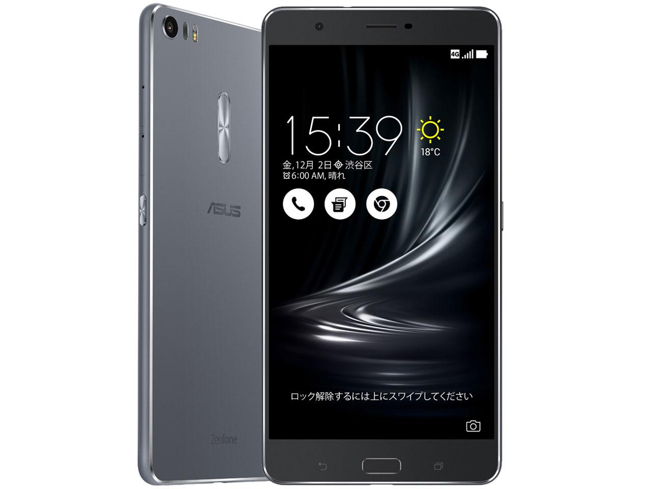 ZenFone 3 Ultra ZU680KL-GY32S4 SIMフリー [グレー] の製品画像