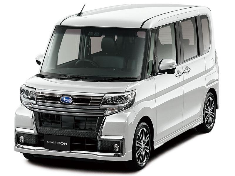 スバル シフォン カスタム 2016年モデル 新車画像