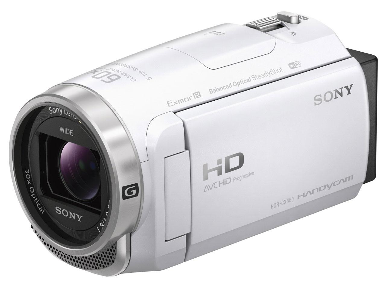 HDR-CX680 (W) [ホワイト] の製品画像