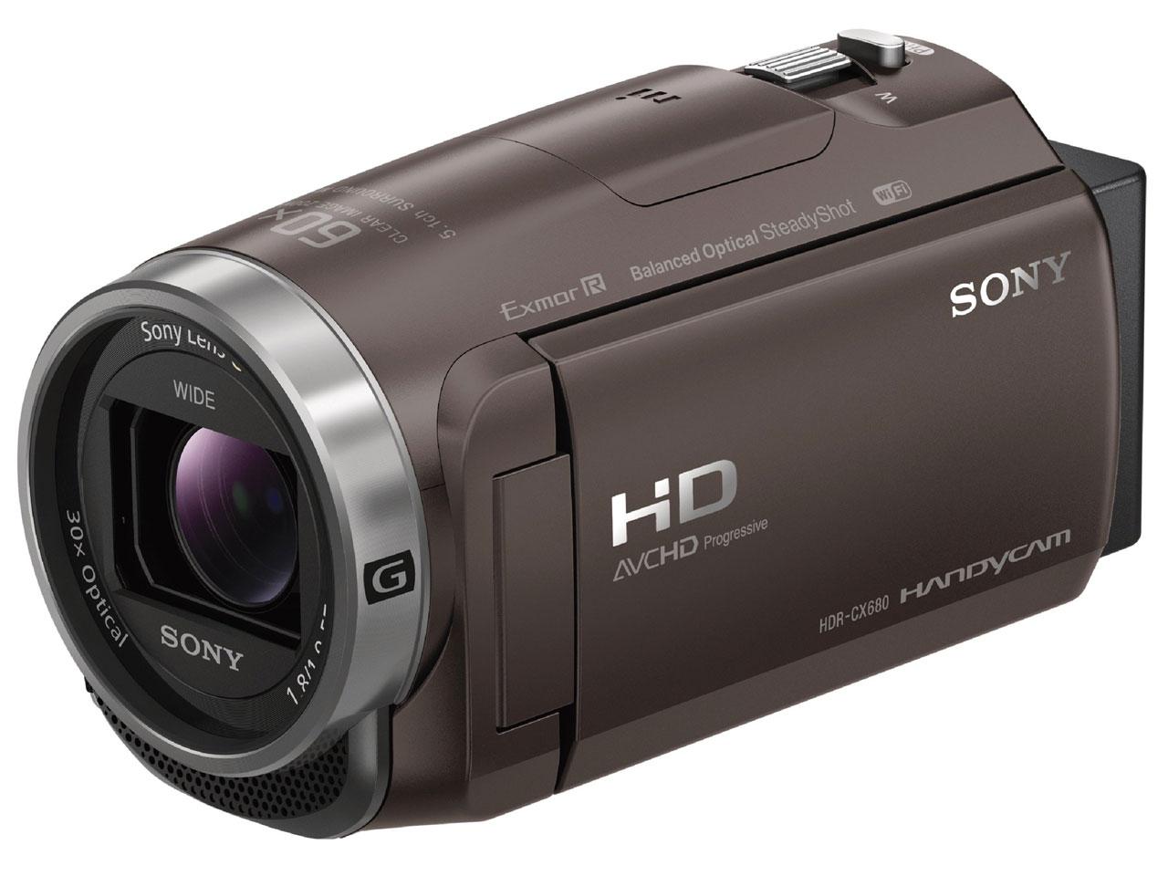 HDR-CX680 (TI) [ブロンズブラウン] の製品画像